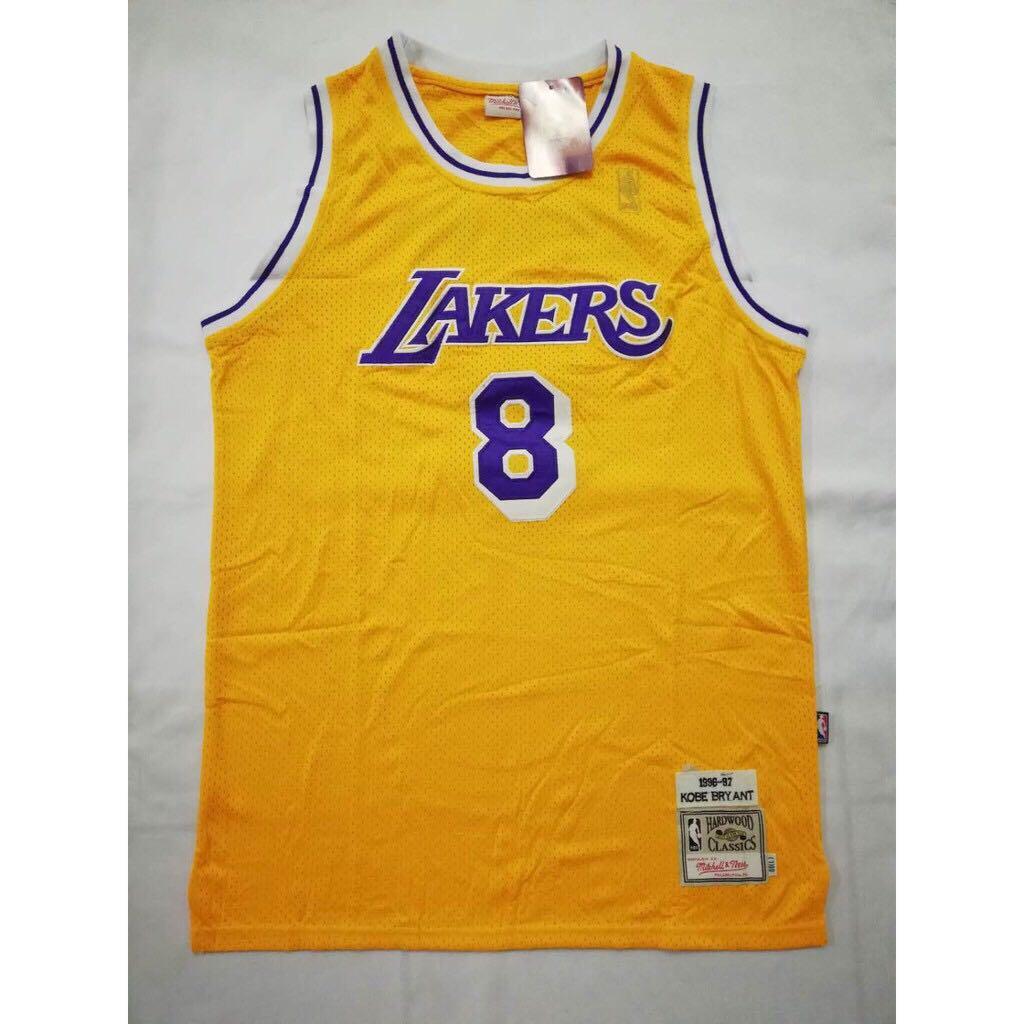 release date: 15222 75658 Kobe Bryant #8 Throwback Edition Swingman Jersey (Los ...