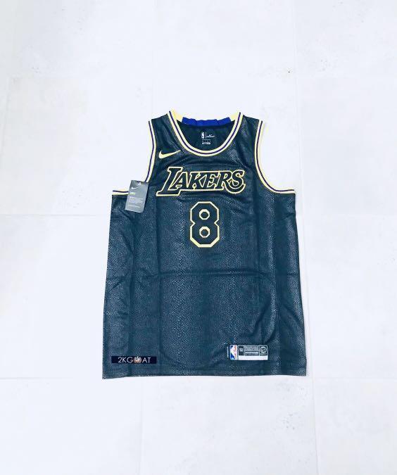 Kobe Bryant Nickname Jersey LA lakers