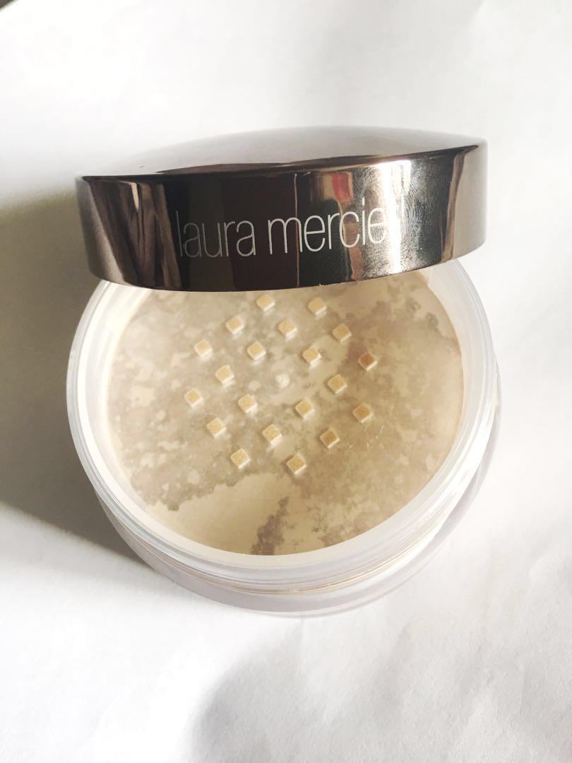 Laura Mercier translucent loose setting powder(glow)