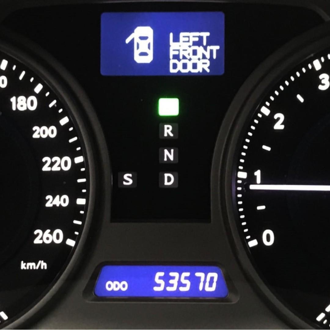 LEXUS IS250 一手車 里程保證只跑五萬 頂級NAVI影音