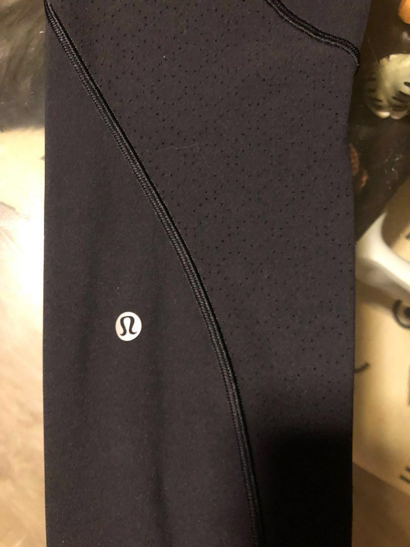 "LULULEMON Breezy Dot Tight 25"" black size 6 ❗️no bargain ❗️"