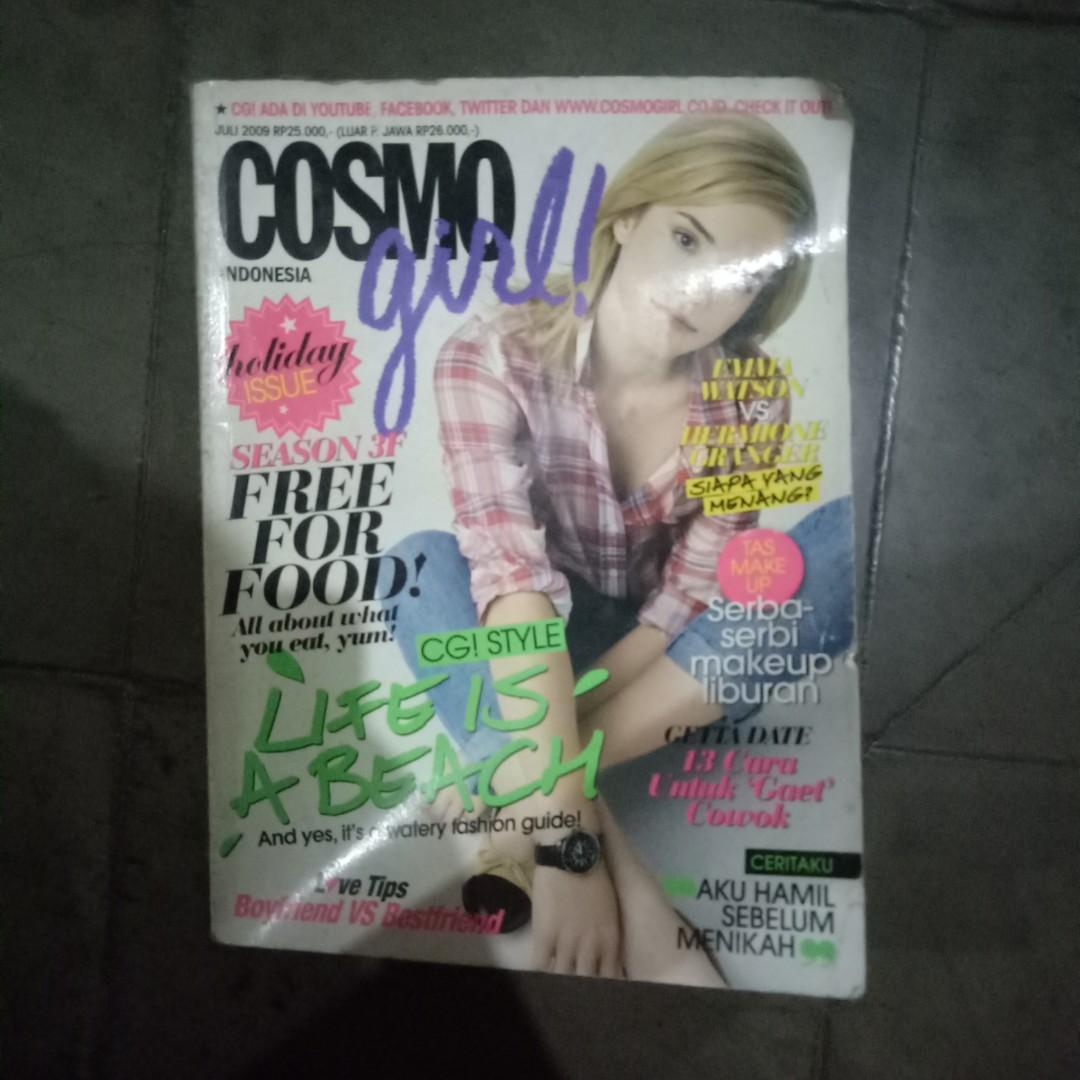 majalah cosmo girl