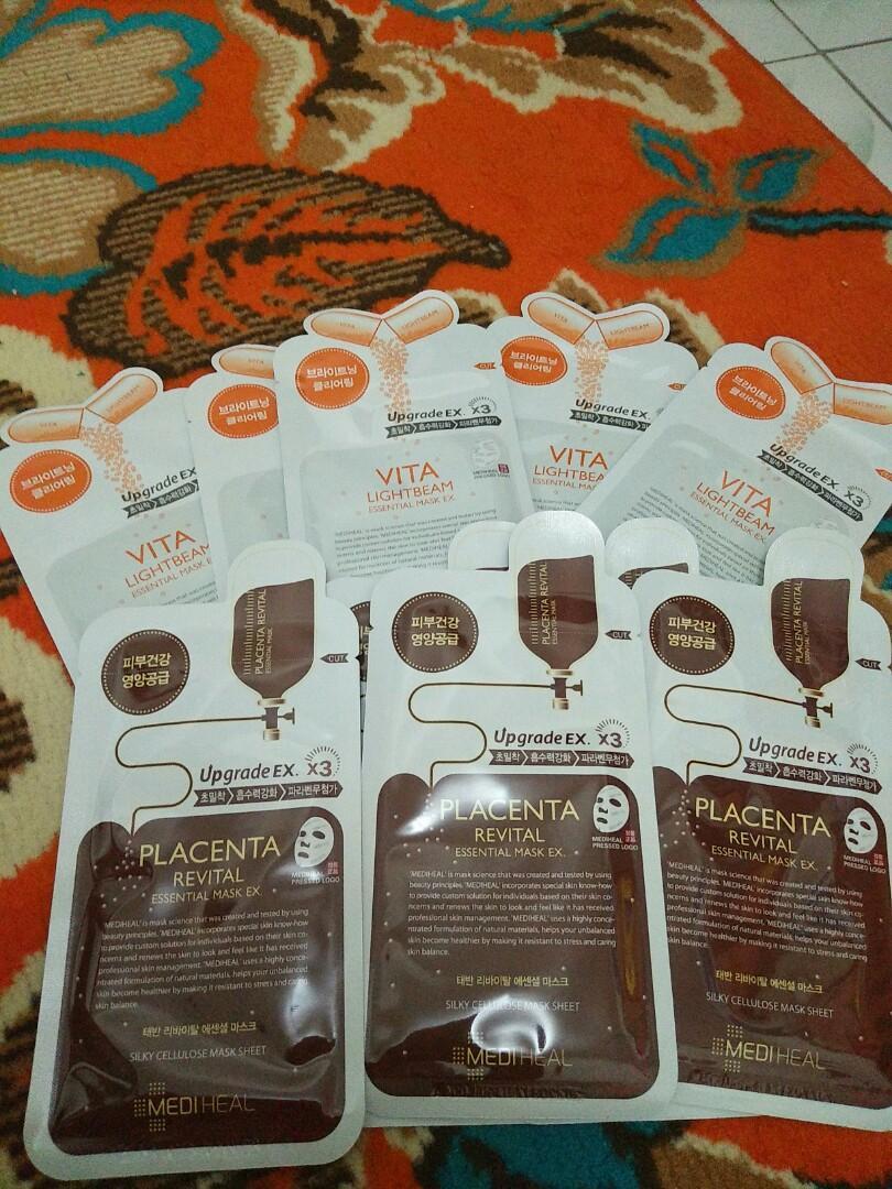 Mediheal Sheet Mask Vita Lightbeam & Placenta Revital