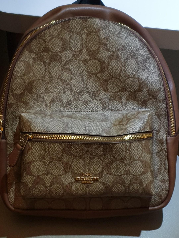 Mini Charlie Signature Backpack Bag