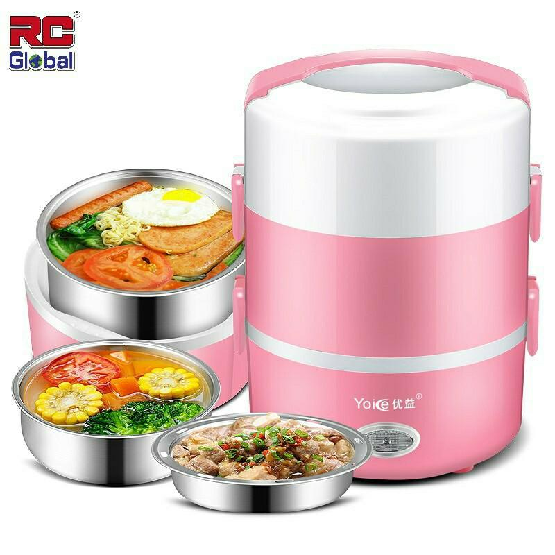 Mini Electric Lunch Box Rice Cooker
