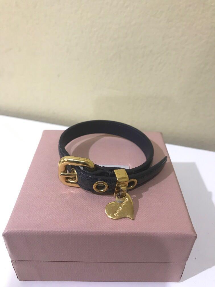 Miu miu bracelet