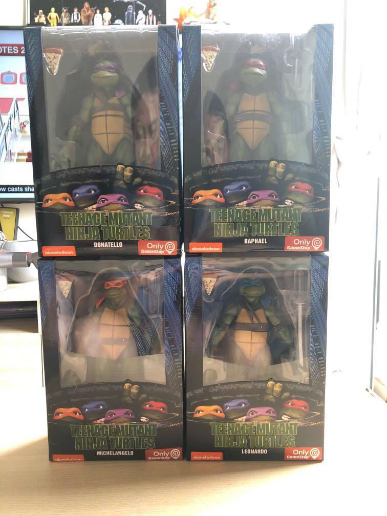 Movie TMNT 1/12 GameStop Exclusives