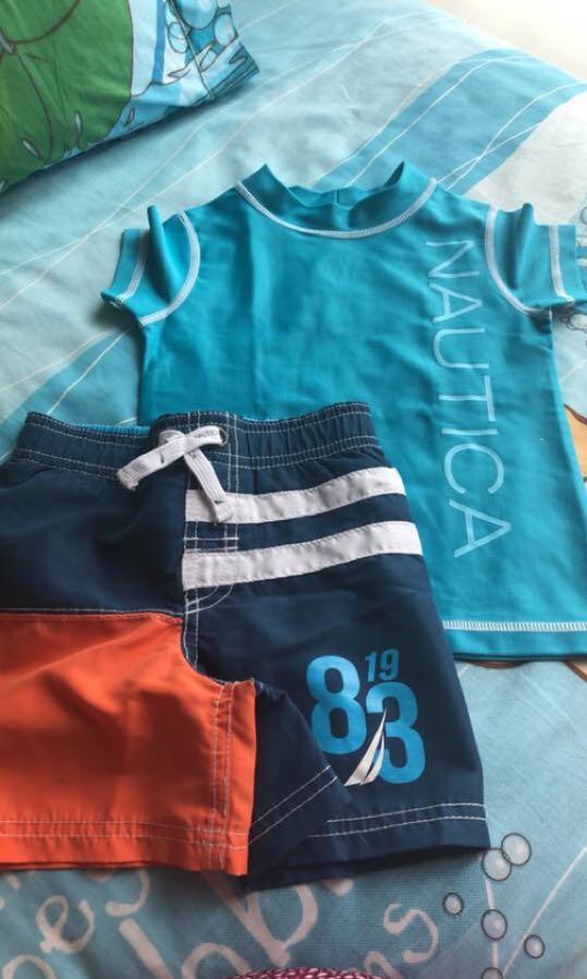 Nautica Rashguard / swimsuit