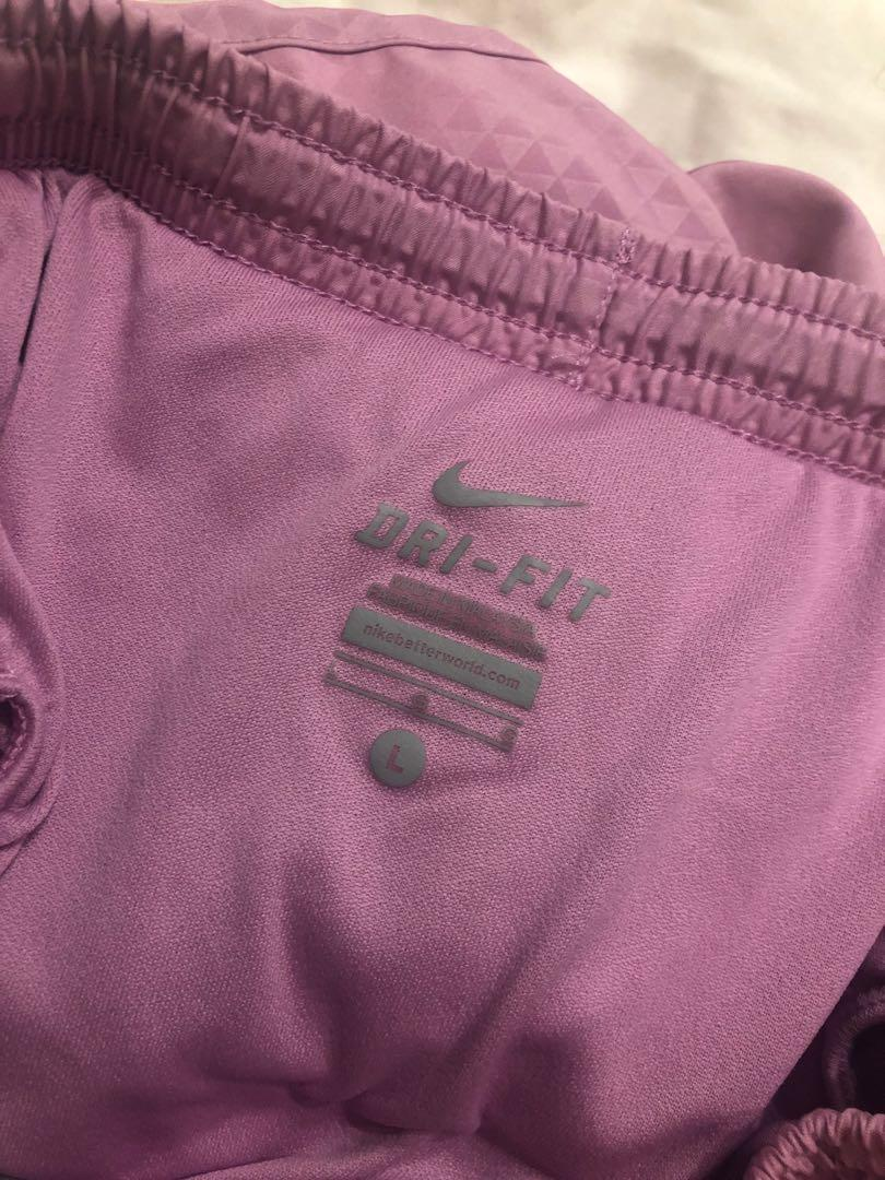 Nike Dri Fit shorts in size L