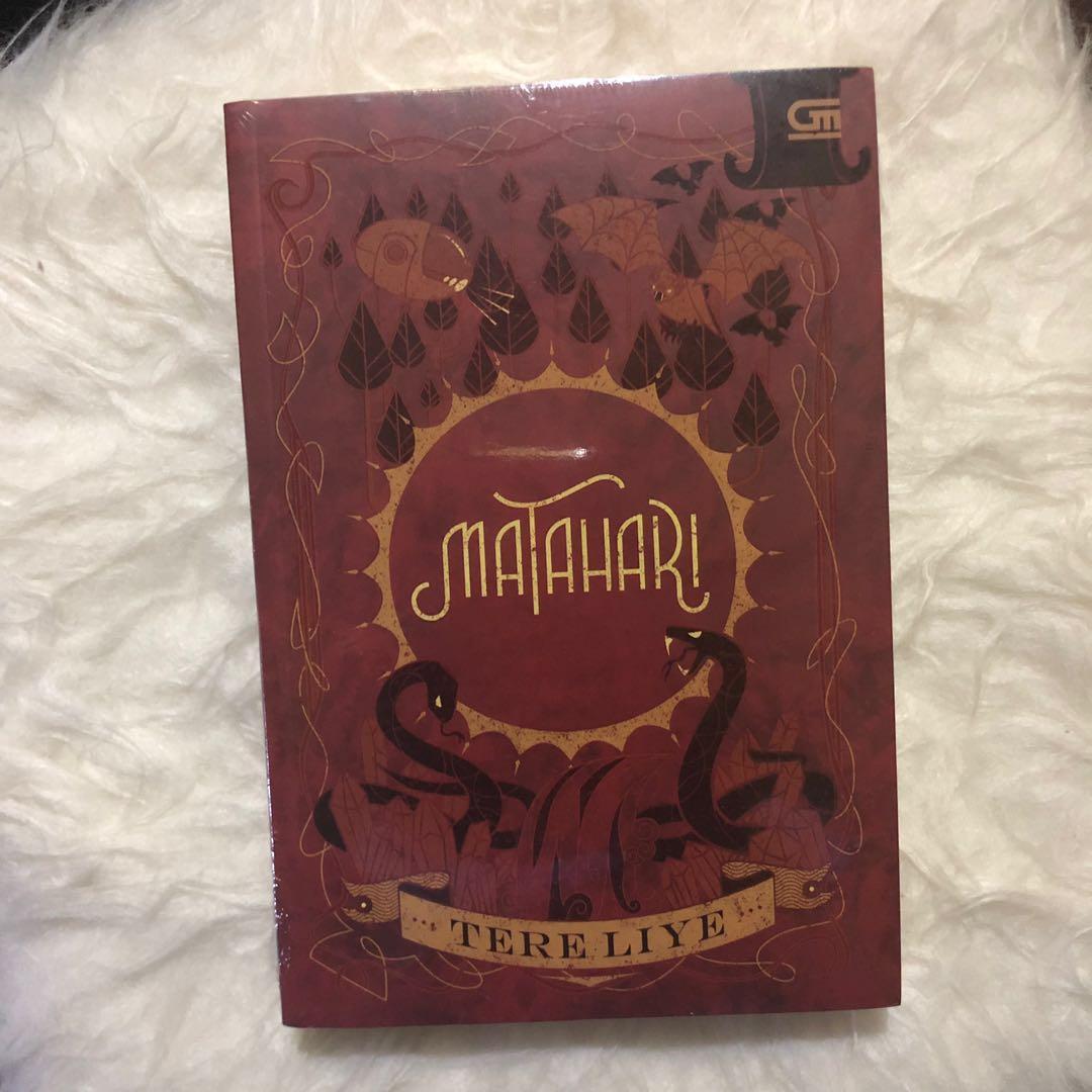 Novel Tere Liye Matahari