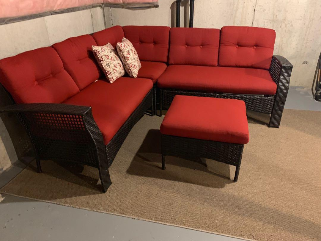 Outdoor sectional couch furniture