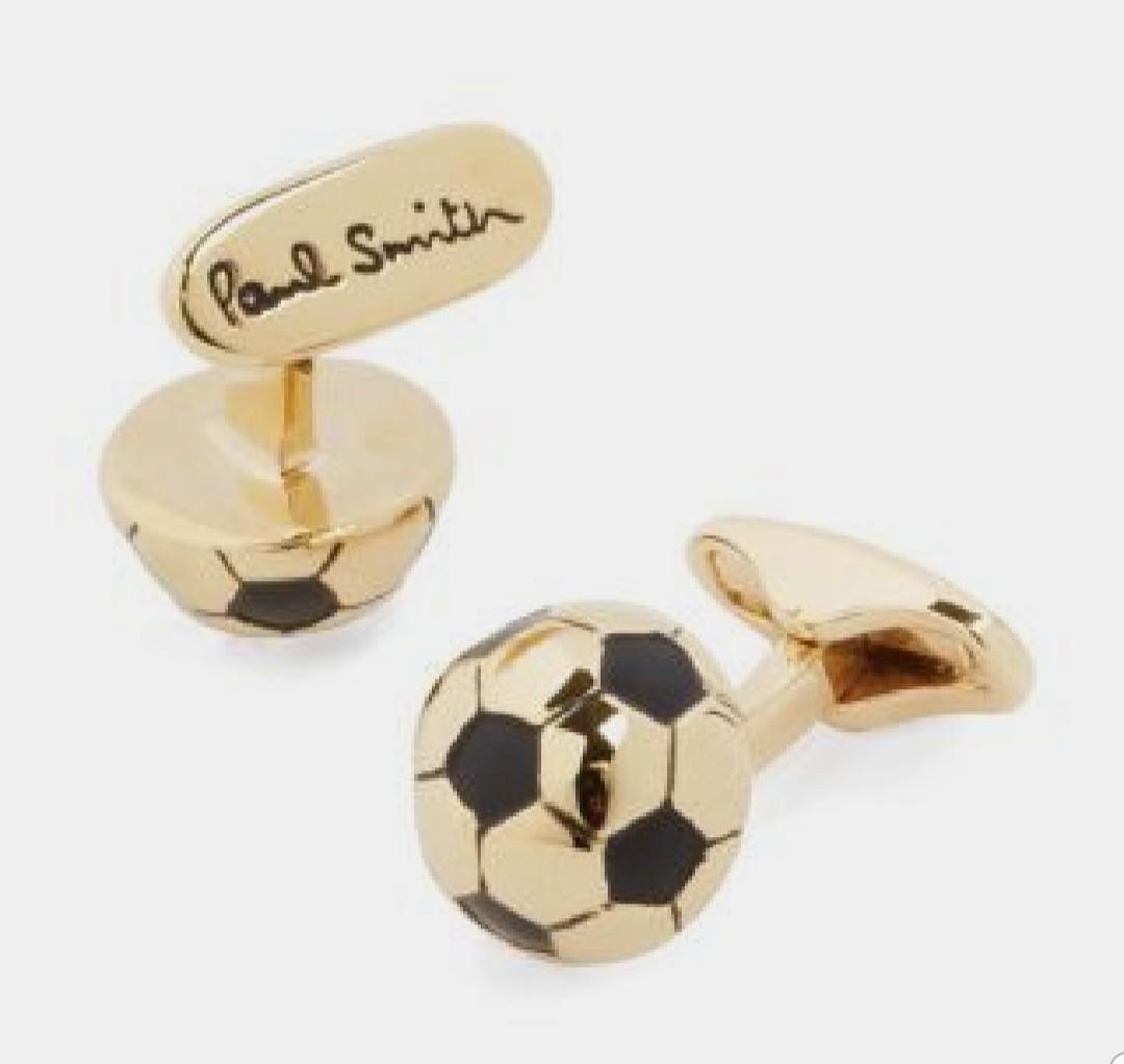 PAUL SMITH Men's Soccer Ball Cufflinks