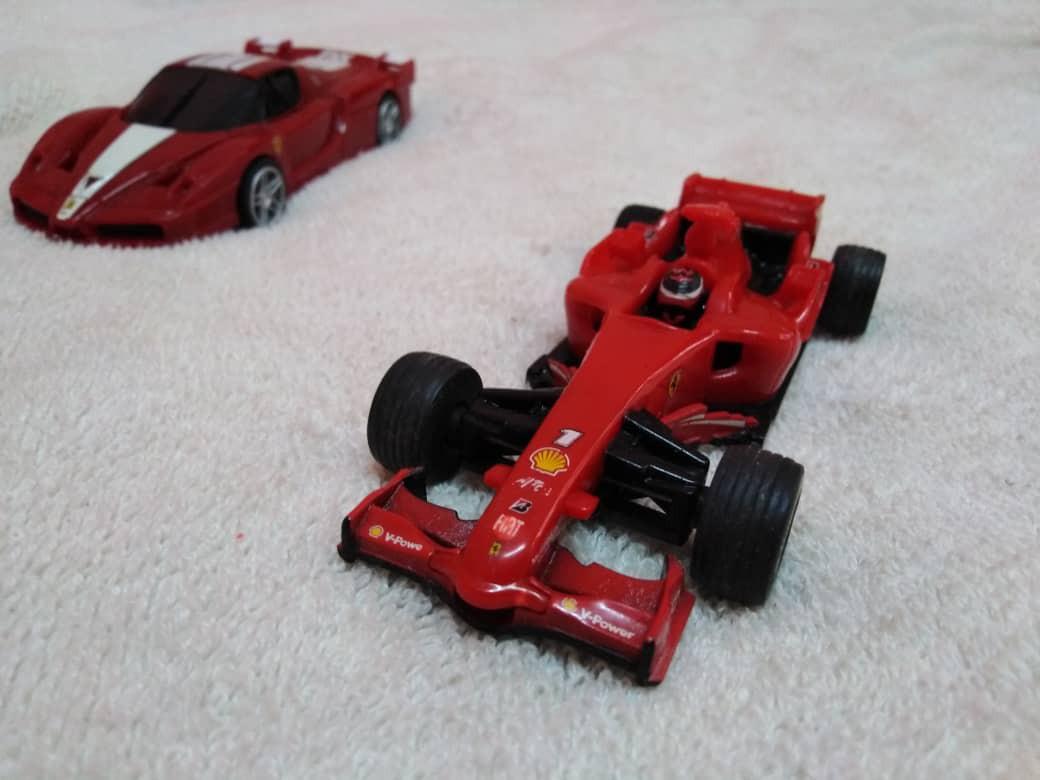Playable red Ferrari F1