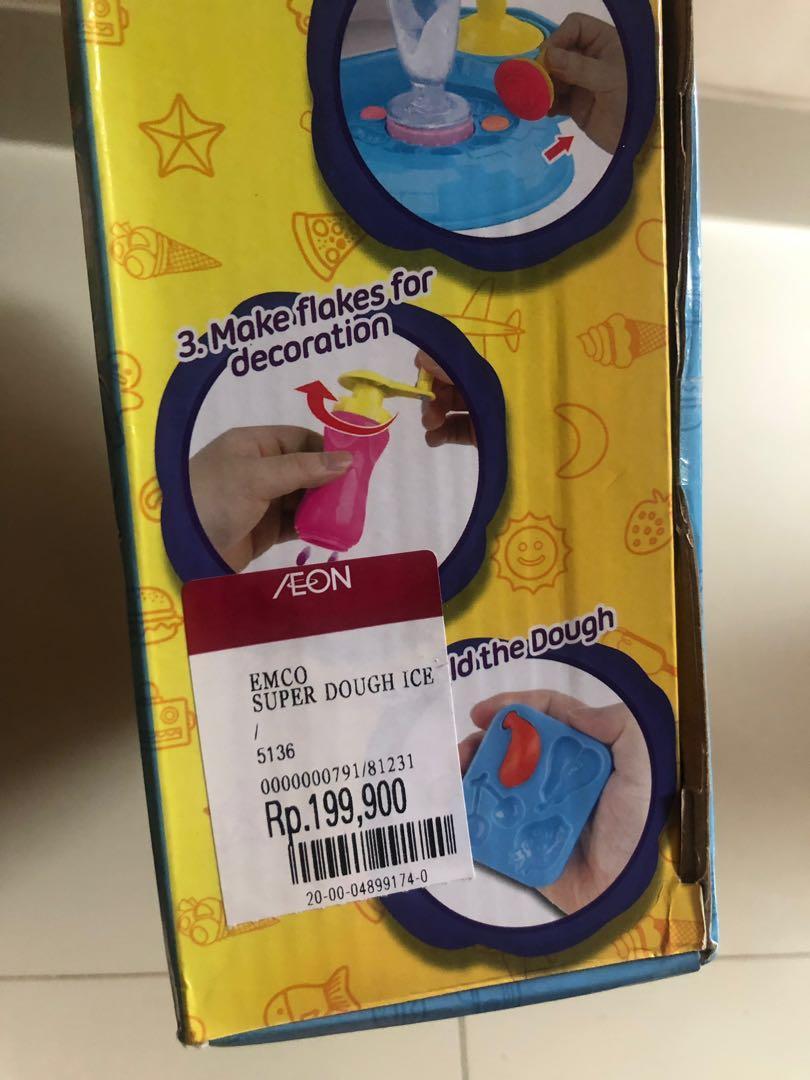 Playdoh Super Dough Ice Cream Set