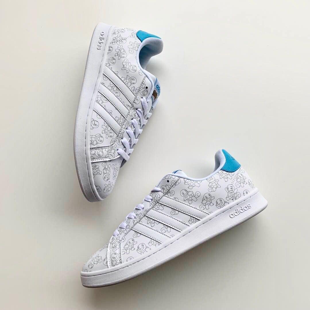 PO] Adidas X Pokemon (SQUIRTLE VER), Men's Fashion, Footwear