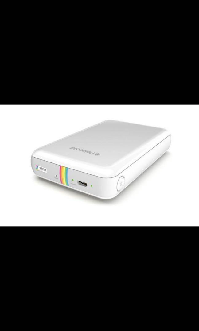 Polaroid Zip Wireless Mobile Photo Mini Printer - White