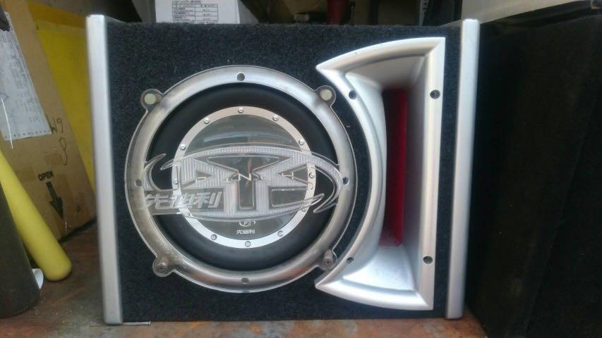 美製PUNCH被動式10吋 重低音喇叭