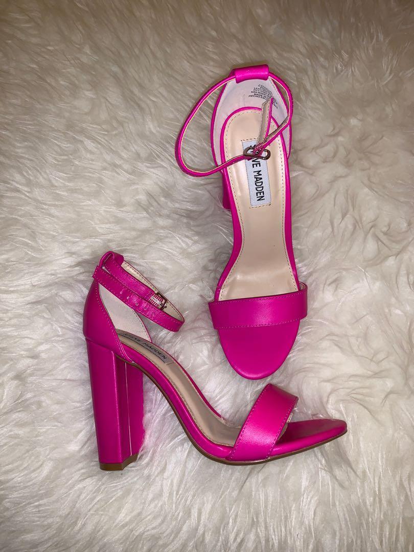 #ramadansale Steve Madden Carrson Pink Neon Heels