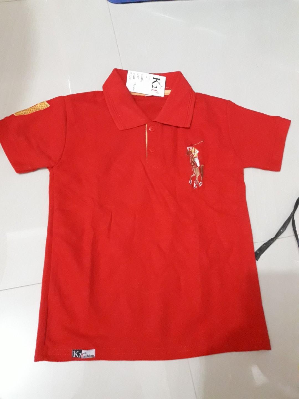 Kaos polo anak,umur 3 thn,uk 6