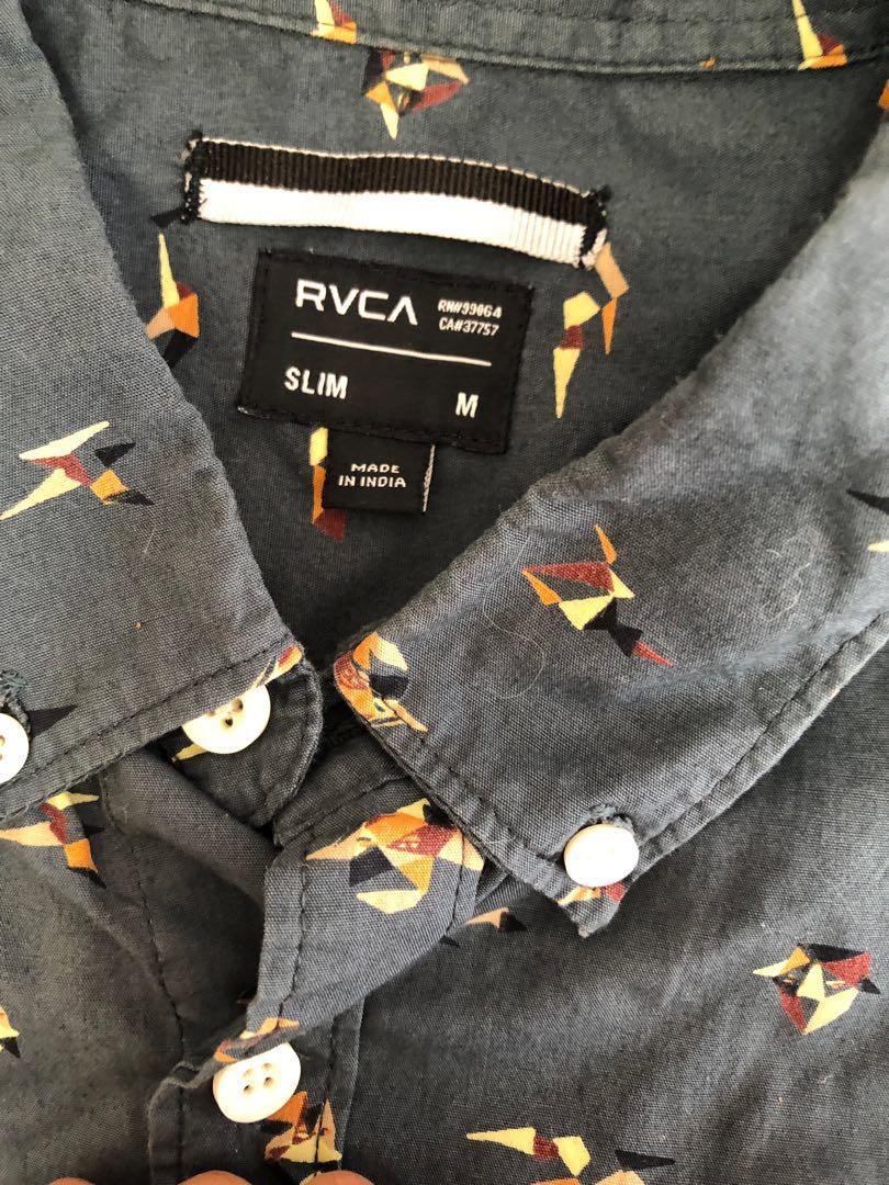 Rvca button up