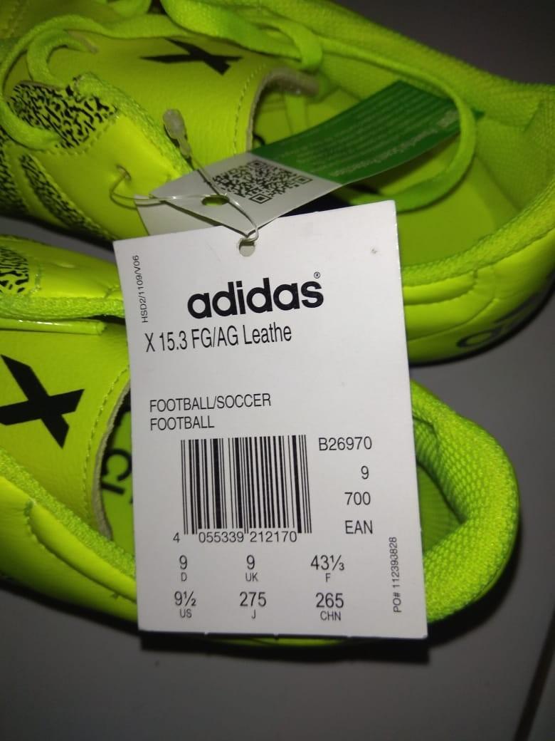 Sepatu bola Adidas x15.3 FG/AG original