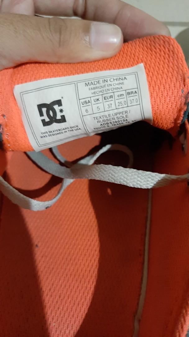 Sneakers DC ORIGINAL size 37. Siapa cepat dia dapat