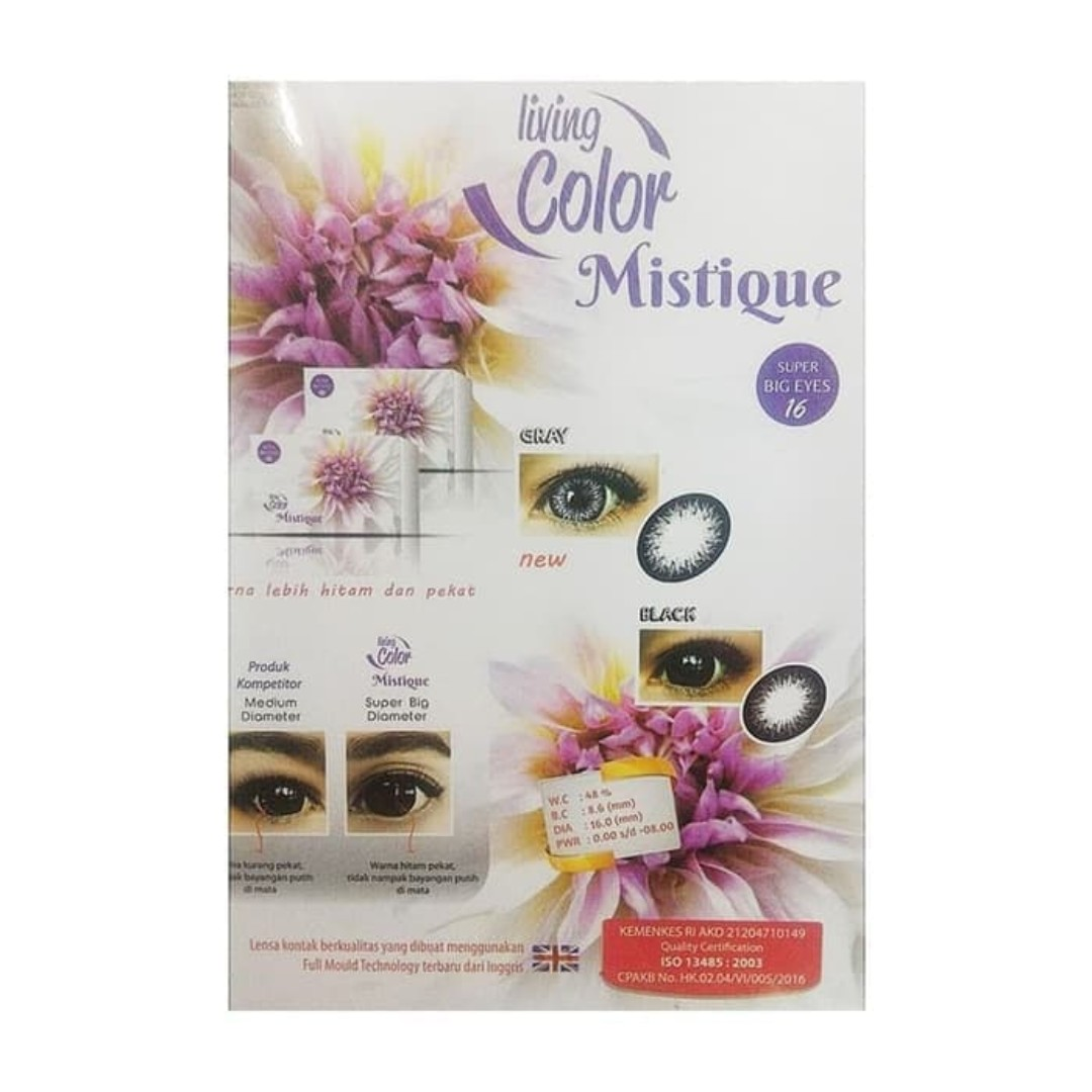 Softlens Living COlor Mistique