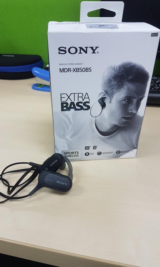 SONY MRD-XB50BS EXTRA BASS
