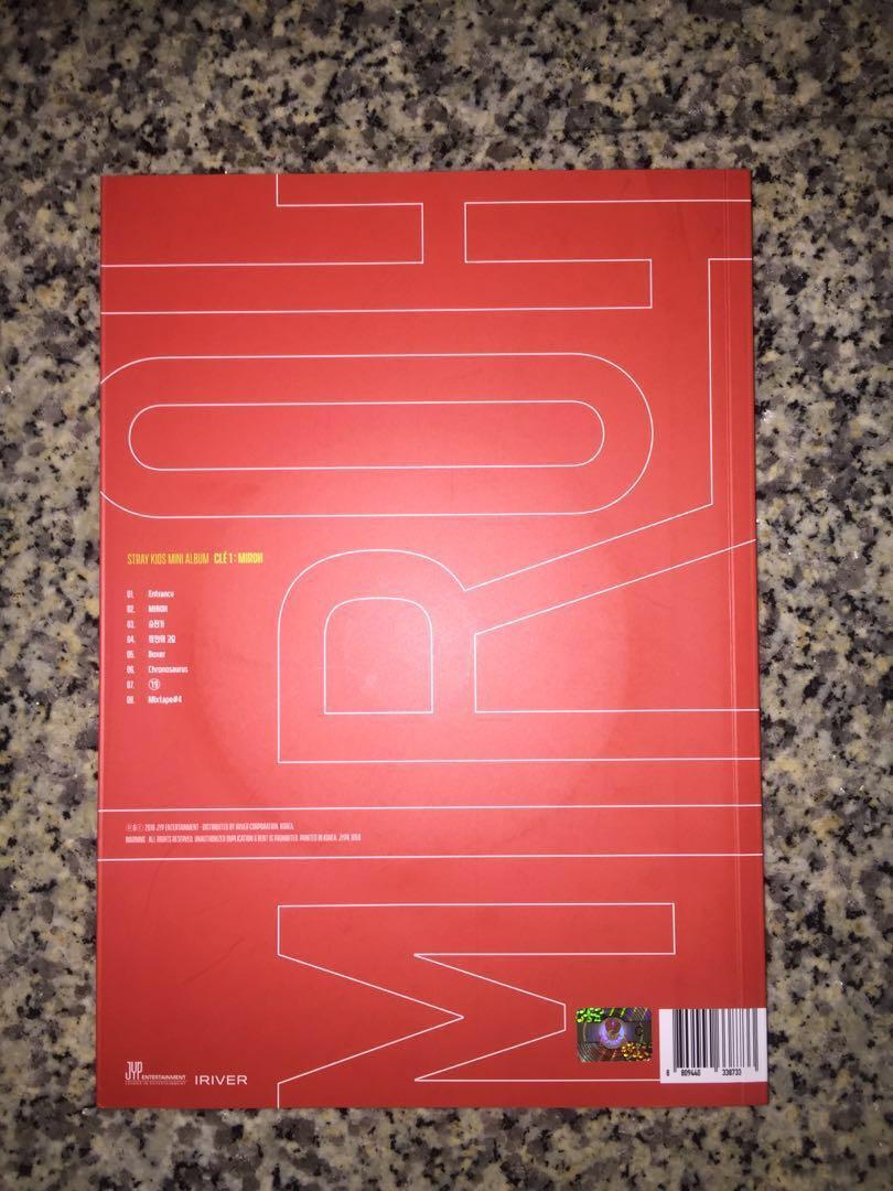 STRAY KIDS MIROH : Clé1 Album ( MIROH VER.)