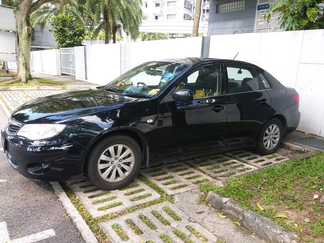Subaru Impreza 1.5 R-L 4-Dr Manual