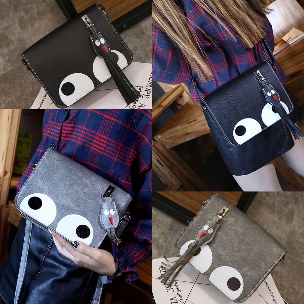 Tas Selempang Sling Bag Fashion Wanita Cewek Impor Import Code 6151