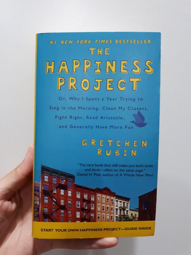 The Happiness Project gretchen rubin ENGLISH
