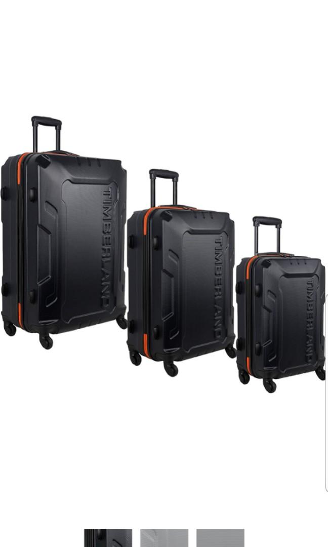 47c0918e75 Timberland Luggage Boscawen Three 3 Piece Luggage Suitcase Set 28
