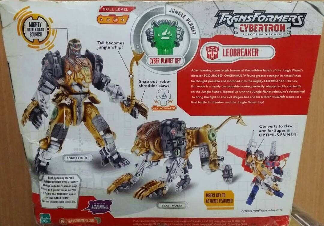 Transformers galaxy force cybertron/ leobreaker