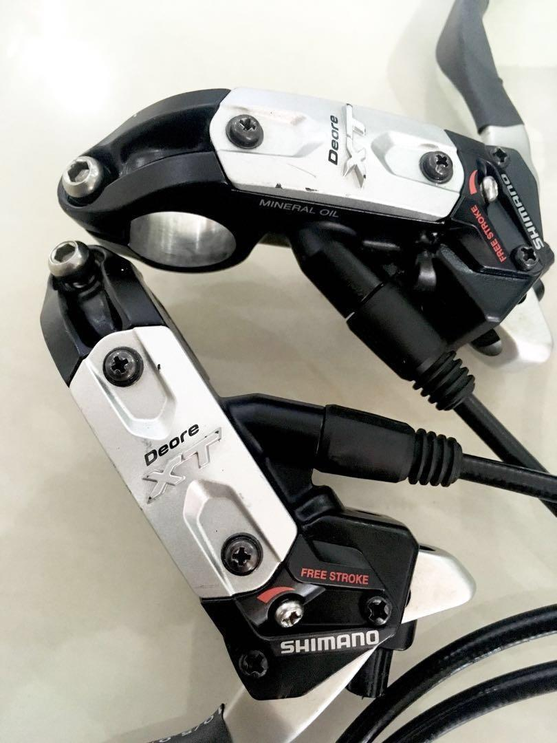 Used Bicycle Components — Shimano Deore XT M775 Custom 4 Pot