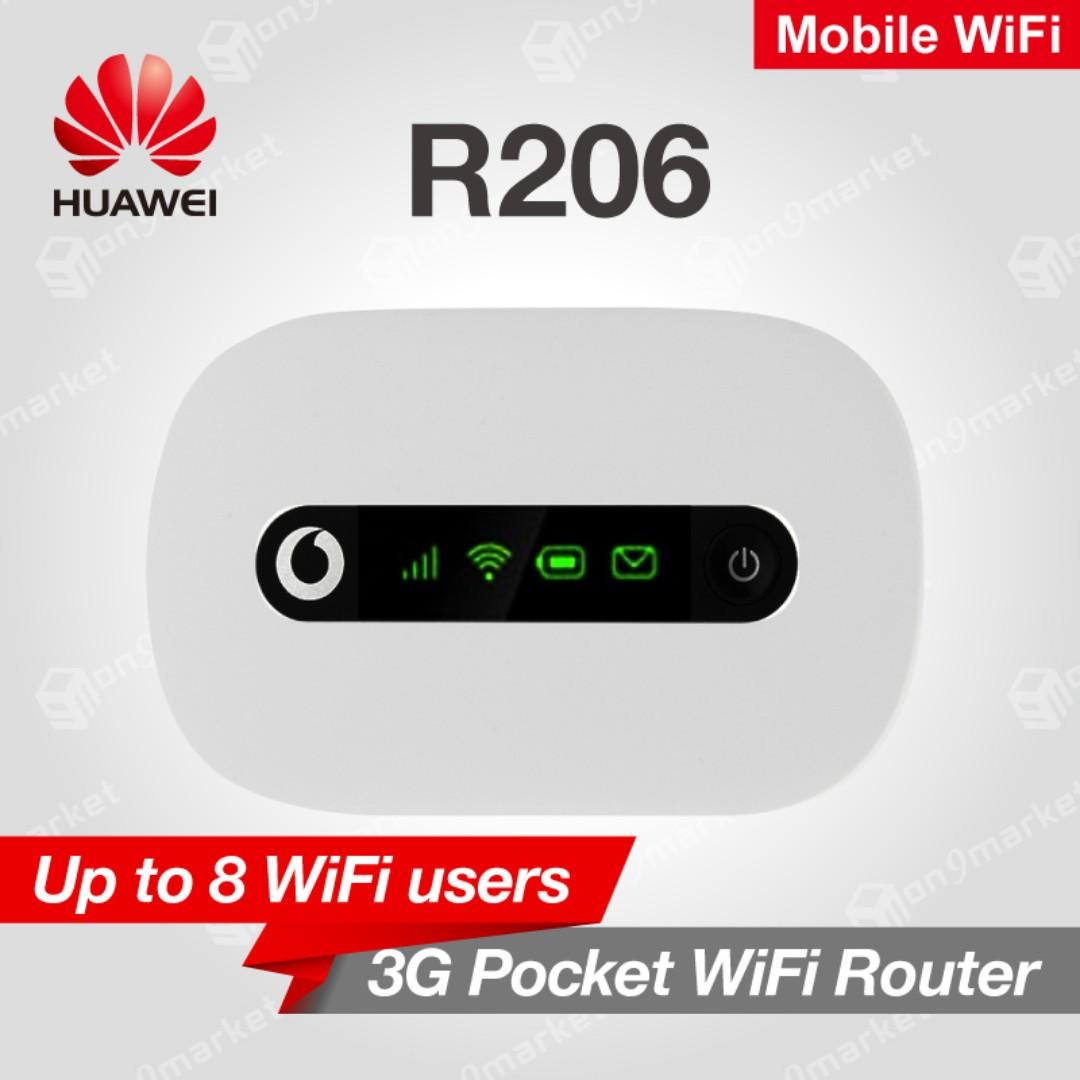 Huawei Vodafone R206 Mobile Wifi Router Giftbox