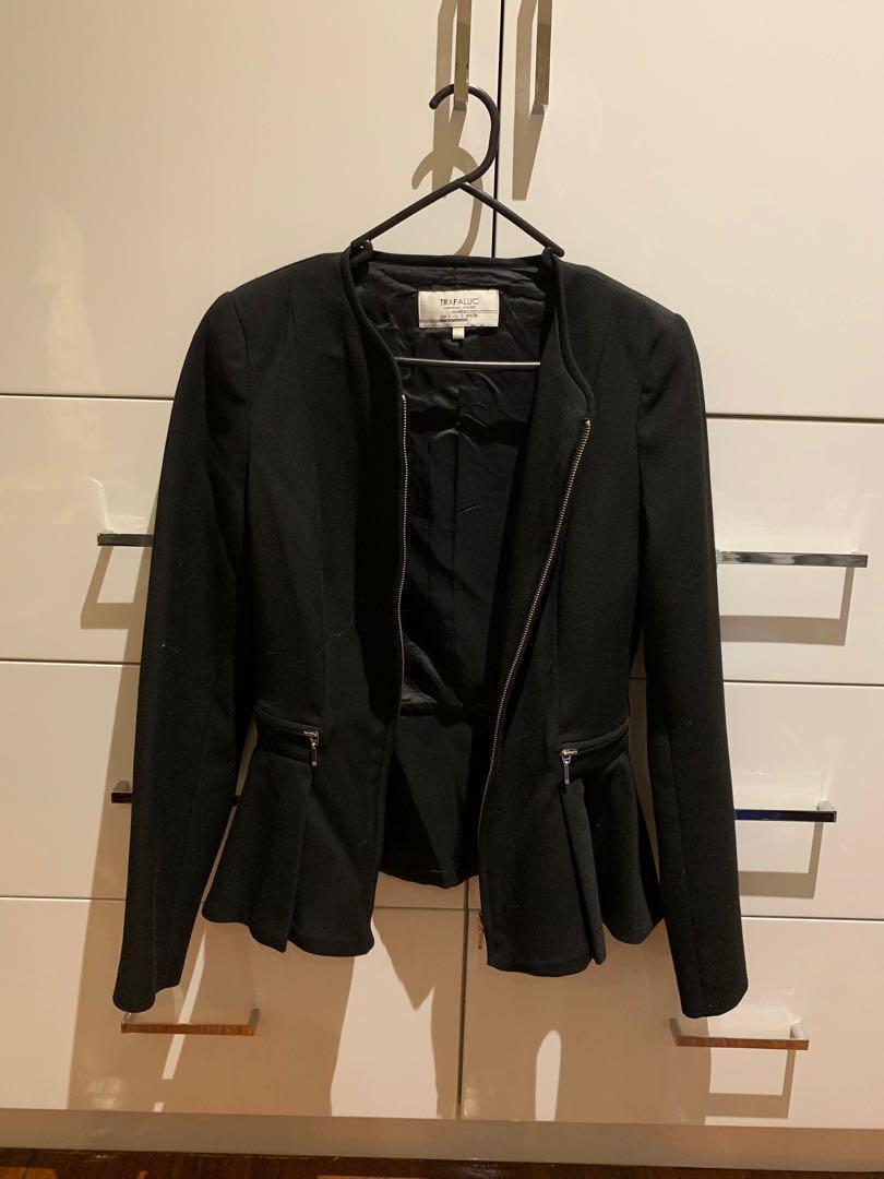 Zara women's black blazer