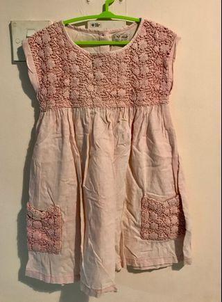 NEXT Girl Pink Dress 4-5yo