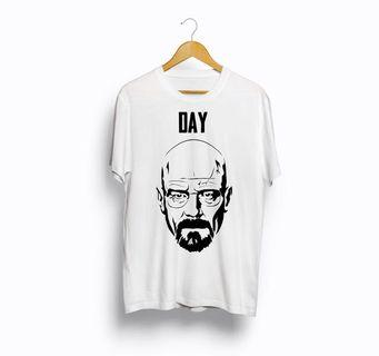 Kaos import breaking bad putih