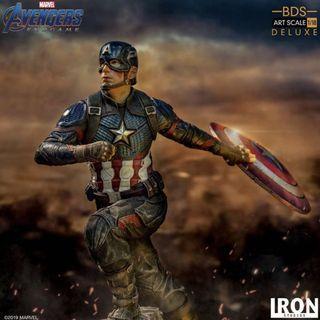 ⚠️6/26結單⚠️ Iron Studio 1/10 復仇者聯盟 : 終局之戰 美國隊長豪華版