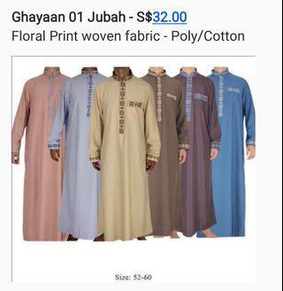 Exquisite Men's Jubah / Gamis. Good quality. Brand new
