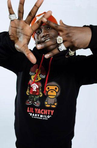 Bape Baby Milo Lil Yachty Pullover Hoodie