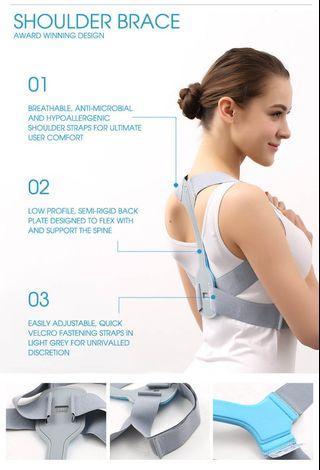 🚚 Invisible Slim Shoulder Brace Posture Corrector Back Support