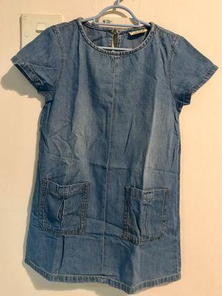 NEXT Girl Denim Dress
