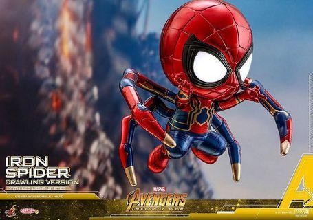 Hot toys cosbaby ironspider