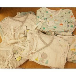 Organic Mom Newborn Baby Swaddle Gown (0-3mons) BB 和尚袍