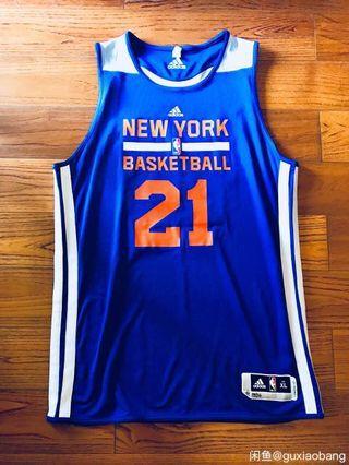 New York Knicks NBA adidas practice jersey gi