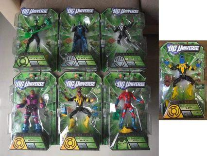 DC Universe Classics Green Lantern Wave 1 Complete Set of 7