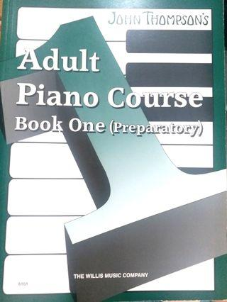 John Thompson Adult Piano Course Book 1