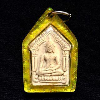 🚚 龙婆添坤曼粉坤平~龙婆沙空 2530 第一期铜符管坤平,有验证卡。